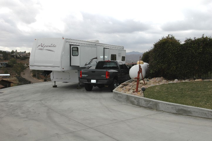 Spectacular RV Parking with 50 Amp Service... and dump station...