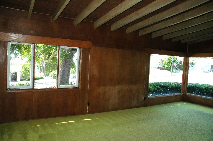 Usonian Living Room... the heart of the family... creating warmth and serenity...