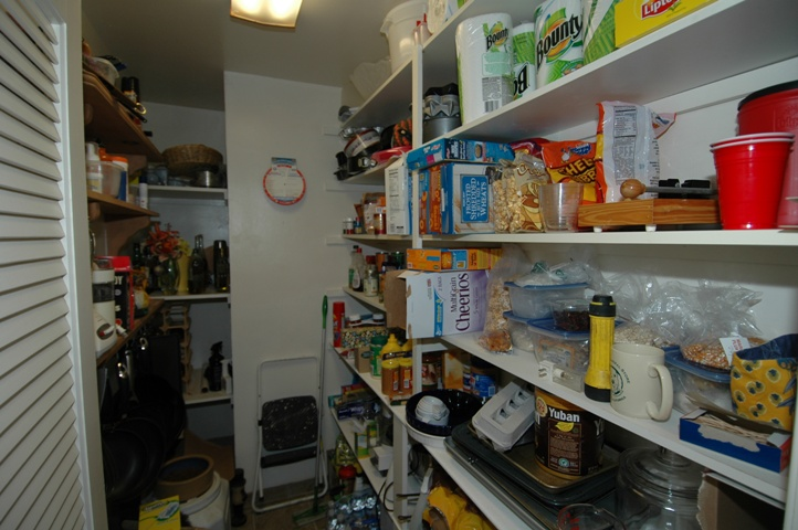 Now this is a pantry