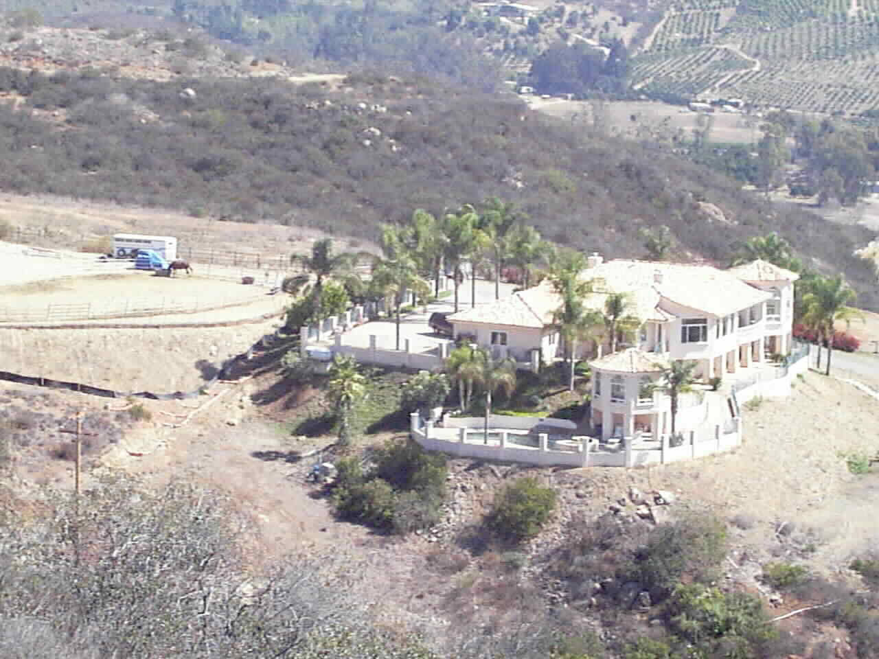 Ocean View Mt. Top Custom Estate with Flat Useable Space for Horses