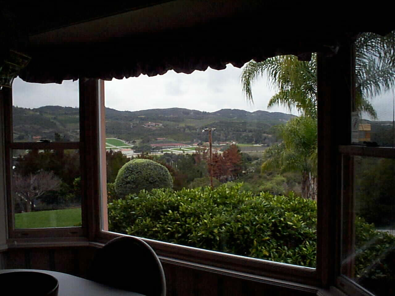 Breakfast nook view of Bonsall's Brookside Farms West