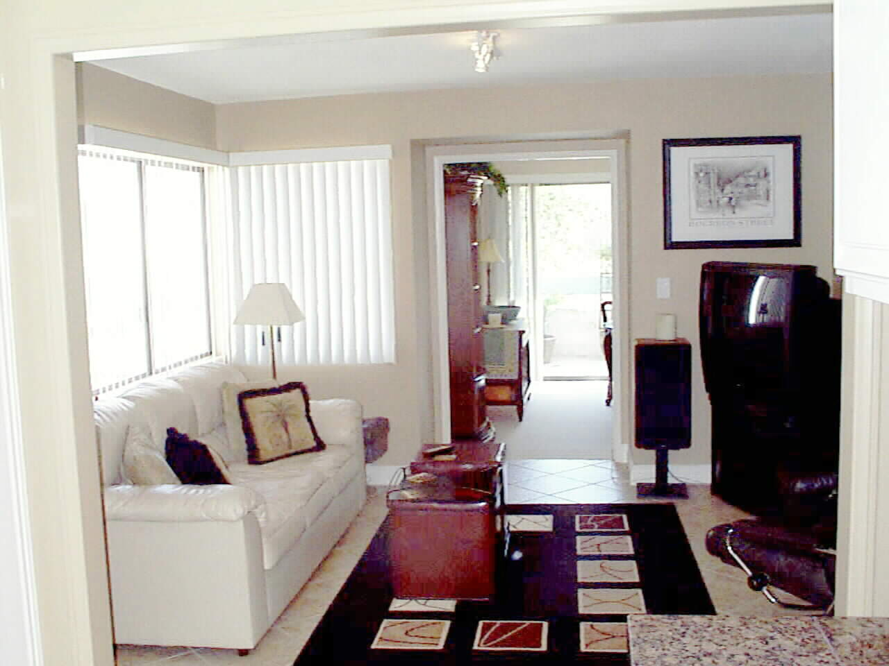 With the remodel... an open inviting Family Room is created!